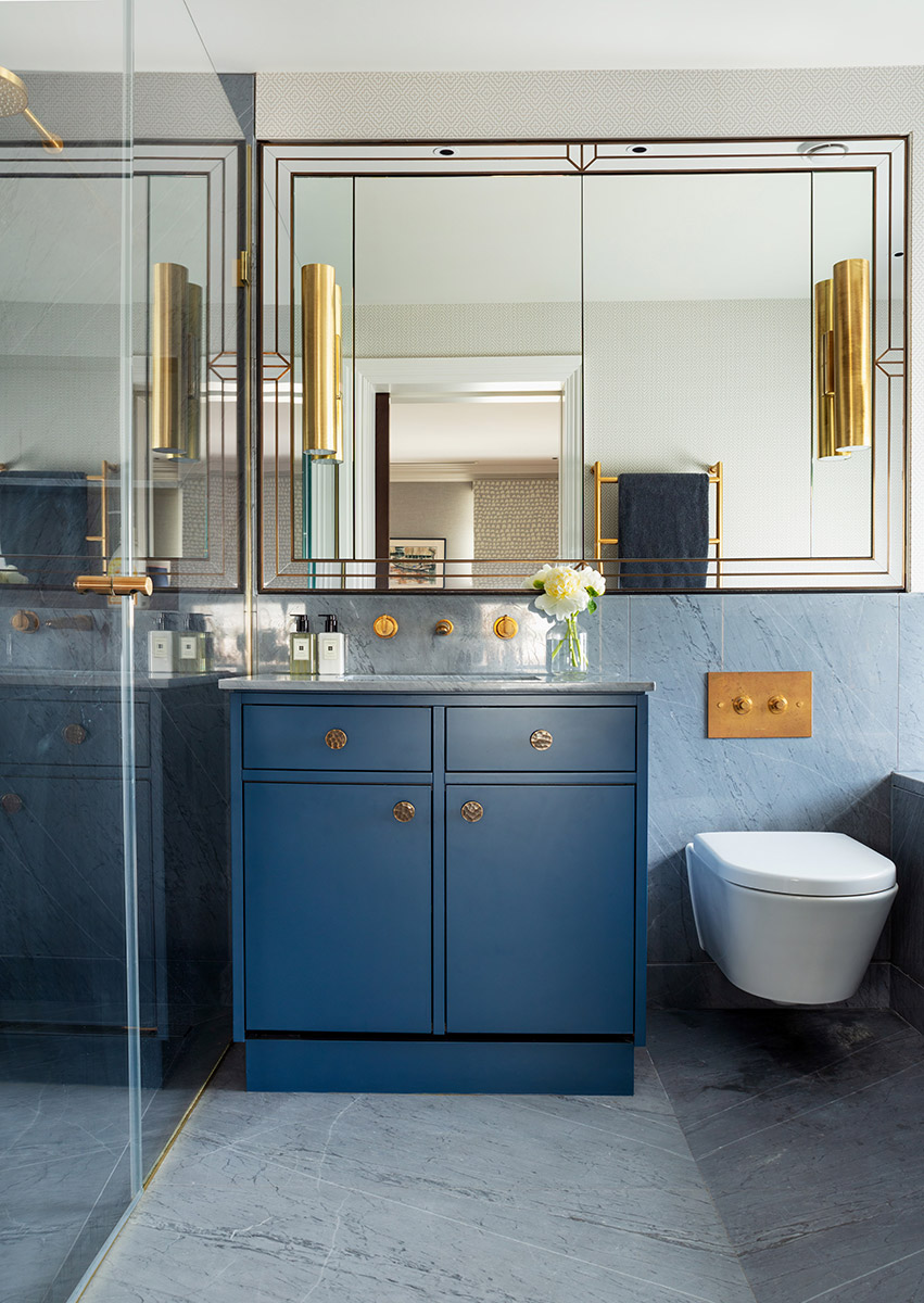 Interior - bathroom with mirrors